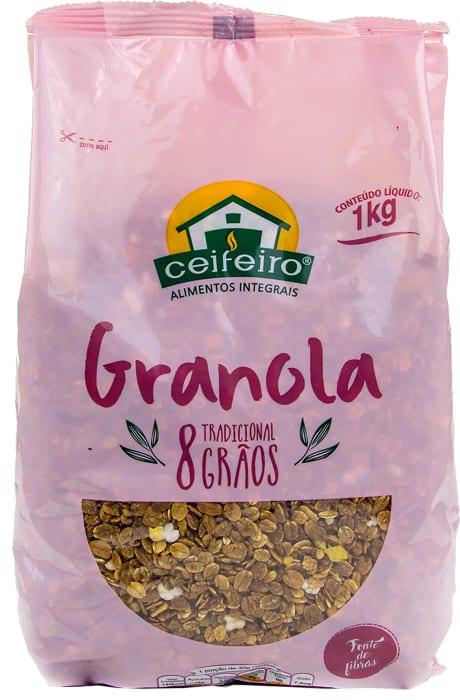 Granola 8 grãos 1kg