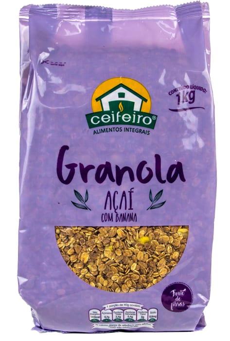 Granola Açaí Banana 1kg