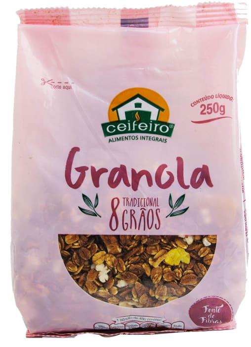 Granola 8 grãos 250g