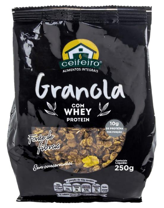 Granola Whey Ceifeiro 250g