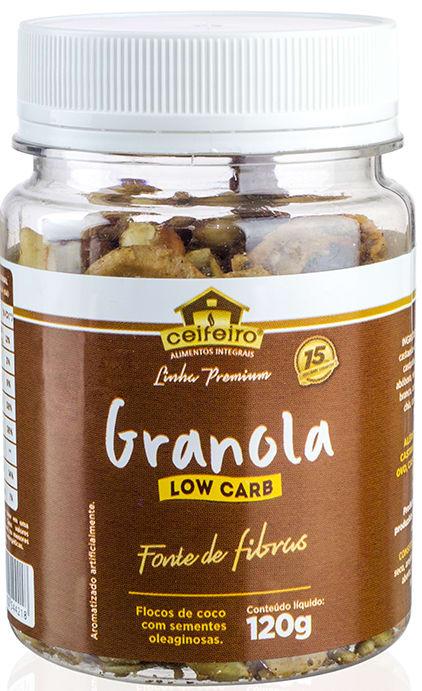 Granola Lowcarb Ceifeiro 120g - frente